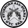 Embroidered Patch: Stubborn All-Stars - Pistols