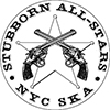 Vinyl Sticker: Stubborn All-Stars - Pistols