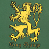 T-Shirt: King Django Rampant Lion