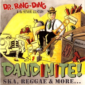 LP+CD: Dr. Ring Ding & The Senior Allstars - Dandimite!