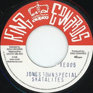 "7"" Single: Skatalites - Jones Town Special  /  Eric Morris - Ungodly People"