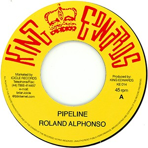 "7"" single: Roland Alphonso - Pipeline/Drumbago - You've Been Drunk"