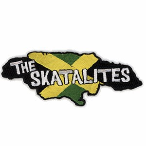 4-color embroidered patch: The Skatalites - Island