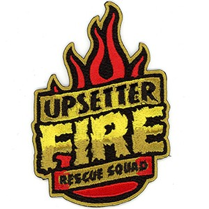 Embroidered Patch: Upsetter Fire Rescue Squad BENEFIT PATCH