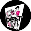 "1"" Pin: The Beat - Beat Girl"