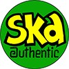 "1"" Pin: Ska - Authentic"