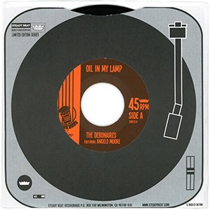 "7"" single: The Debonaires - Oil In My Lamp (featuring Angelo Moore)/Be Alright"