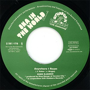 "7"" Single: King Django - Anywhere I Roam/Career Opportunities"