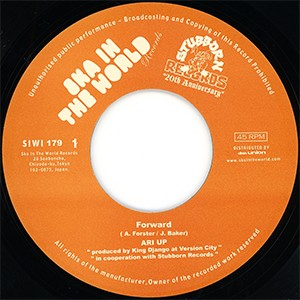 "7"" Single: Ari Up - Forward/Rescue Mission"