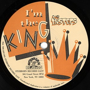 "The Insteps: I'm the King (7"" single)"