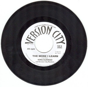 "King Django/Gideon Blumenthal: The More I Learn/Tabernacle (7"" single (Jamaican Import))"