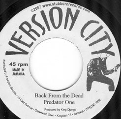 "Predator One (P Dubs)/Weatherman: Back From the Dead/Work Hunting (7"" single (Jamaican Import))"