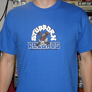 T-Shirt: Stubborn Records  - Mule Logo